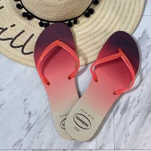 Havaianas Colorful Flip Flops